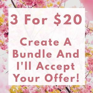 🎈3 FOR $20 On All Items $10 Or Less!